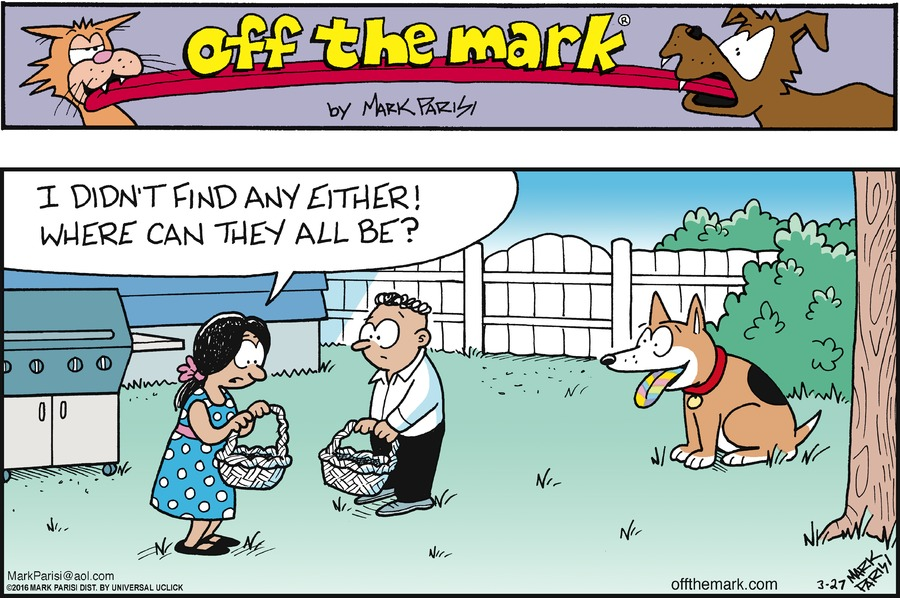 Image result for easter dogs comics